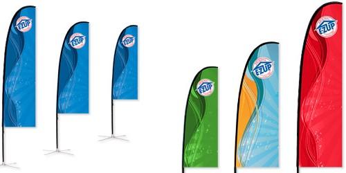 Σημαία Λεπίδα Slim Blade Τυπωμένη