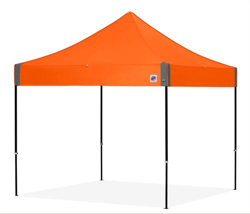 enterprise shelter g3 top steel orange frame black