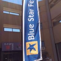 Blue star ferries σημαία 6.4μ