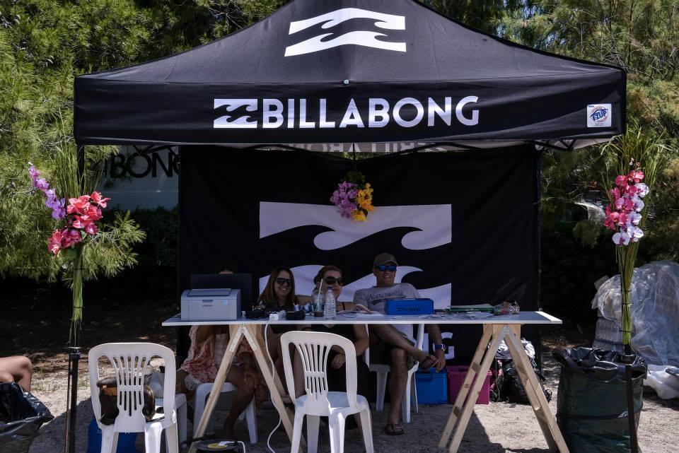 Πτυσσόμενη τέντα Eclipse 3x3 ψηφιακή εκτύπωση Billabong