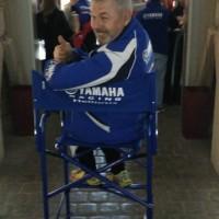Director chair tall printing Yamaha