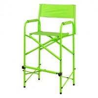 Director chair tall green