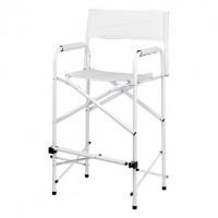 Director chair tall white