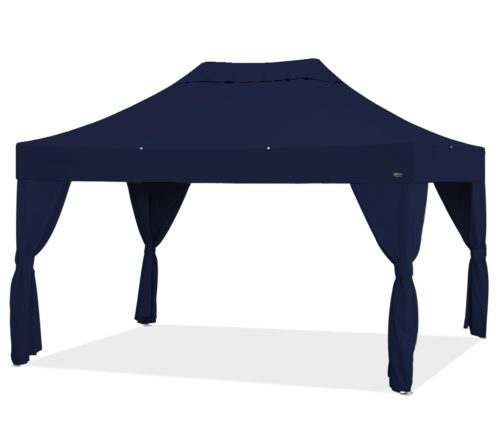 bungalow g3 15 sw4pack top navy blue frame clear aluminum sidewall navy blue